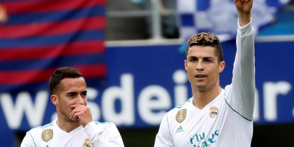 Cristiano sigue eficaz con Real Madrid: doblete para triunfo 1-2 sobre Eibar