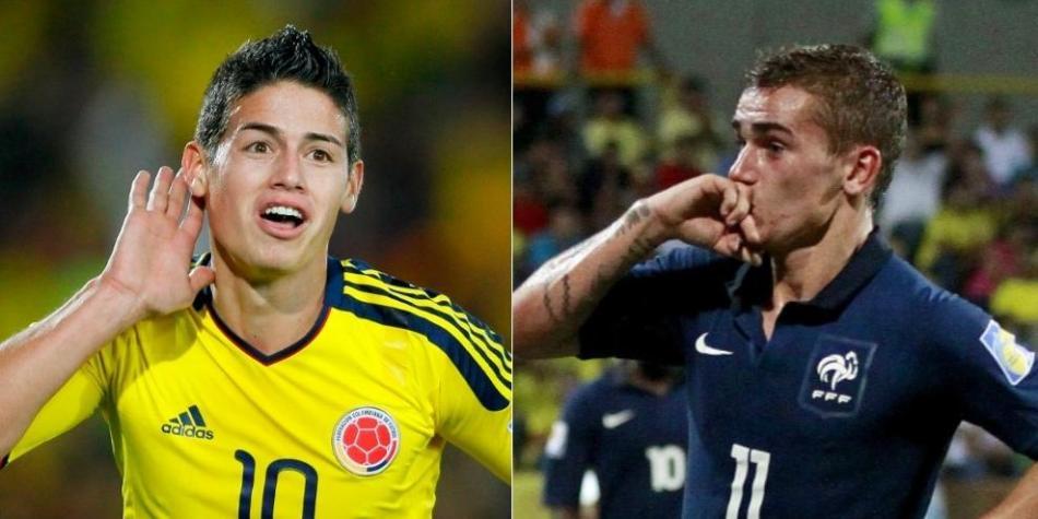 James y Griezmann, dos líderes que nacieron en el Mundial Sub-20 de 2011