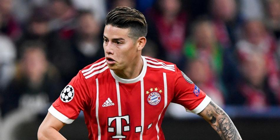 'Bayern no necesita esconderse contra Real Madrid': James Rodríguez