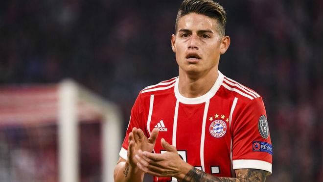 Un buen James no fue suficiente para el Bayern de Munich