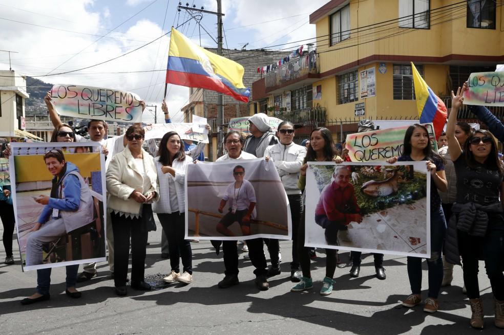 Periodismo de luto: autoridades confirman asesinato de ecuatorianos secuestrados