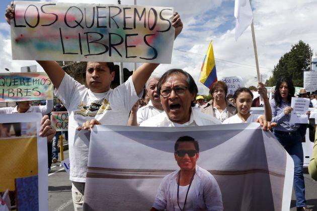 Es inadmisible la forma en que se ha manejado información de periodistas secuestrados: FLIP