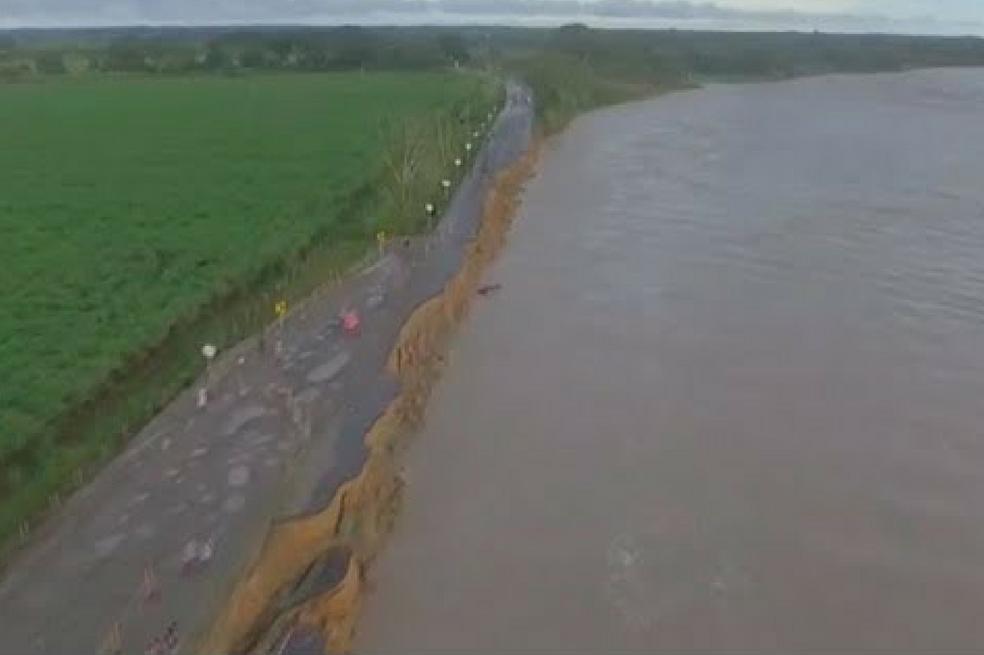 Declaran calamidad pública en Meta por creciente del río Ariari