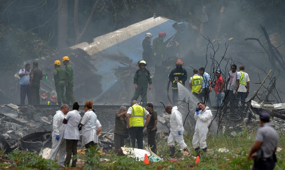 Accidente aéreo en Cuba: hay tres sobrevivientes en estado crítico