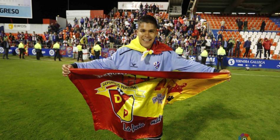 'Cucho' Hernández consiguió el ascenso a Primera en España con Huesca
