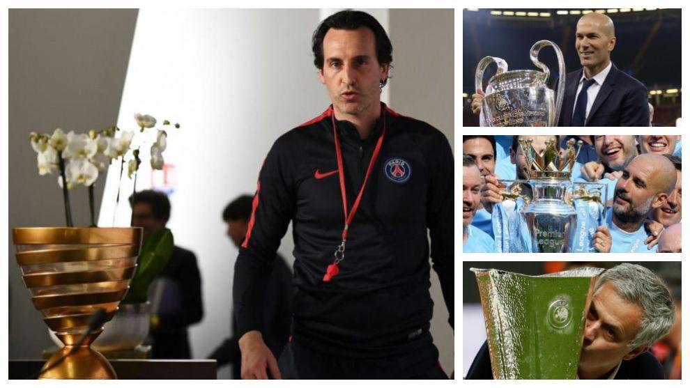 Ni Zidane, ni Mourinho, ni Guardiola… nadie ha ganado más títulos que Emery en las últimas cinco temporadas