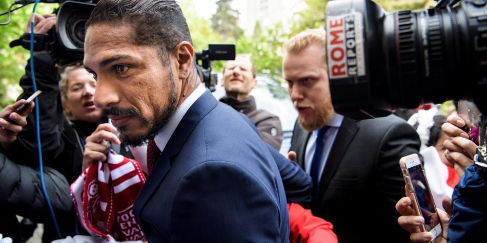 'Estoy optimista', dijo Guerrero tras audiencia de 9 horas con el TAS