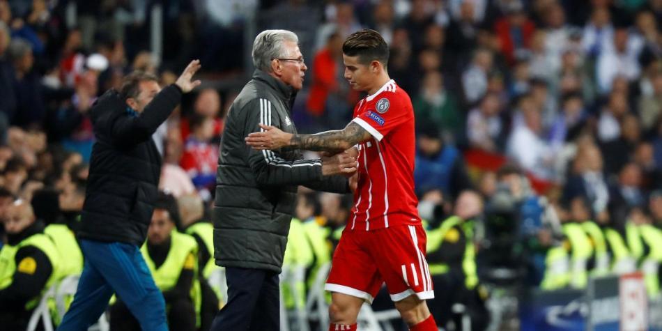 Heynckes volvió a elogiar a James: 'Es un genio del fútbol'