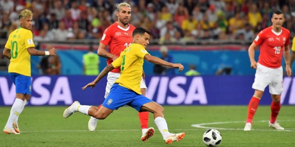 Brasil empató 1-1 con Suiza y deja dudas de su poderío ofensivo