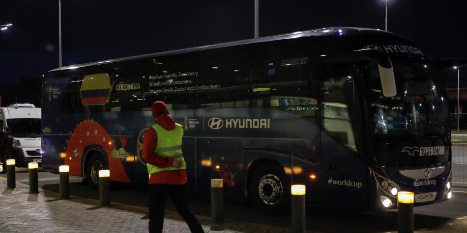 Tras problemas climáticos, Colombia está en Kazán, su sede del Mundial