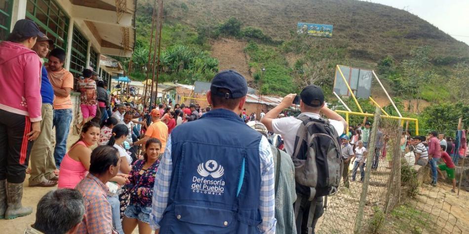 Colombia volvió ser el país con más desplazados internos