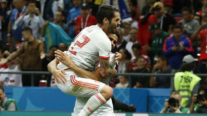 Diego Costa salva a España de una emboscada