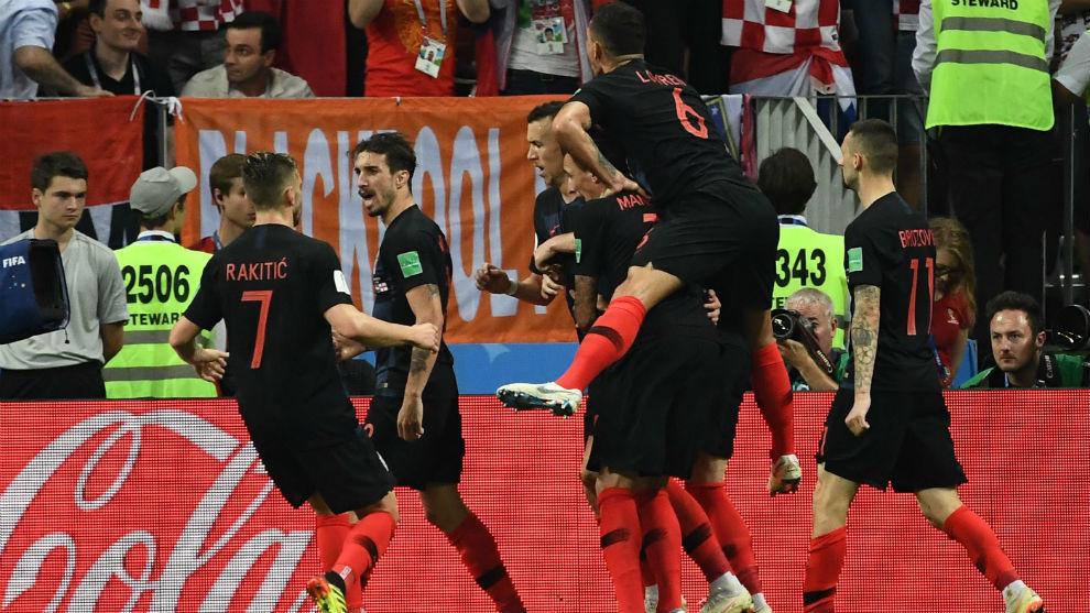 Croacia se cita con Francia en la final de Rusia 2018