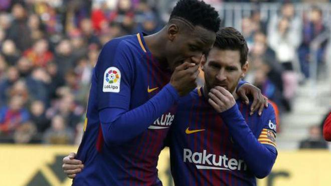 """Yerry Mina: """"Perdía todos los días 50 euros contra Messi, Iniesta y Luis Suárez"""""""