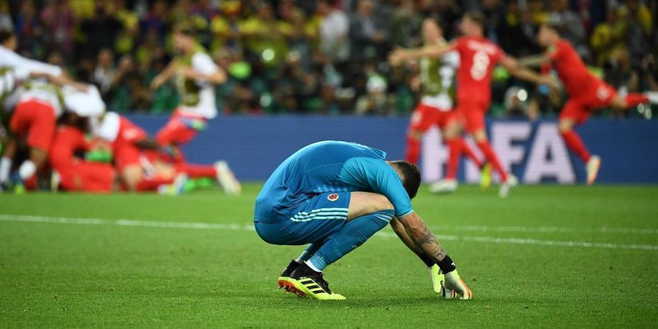 Se nos fue: Colombia cayó en penaltis con Inglaterra y se quedó afuera