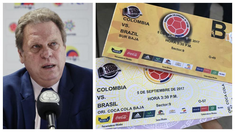 Los audios que comprometen a la Federación Colombiana de Fútbol