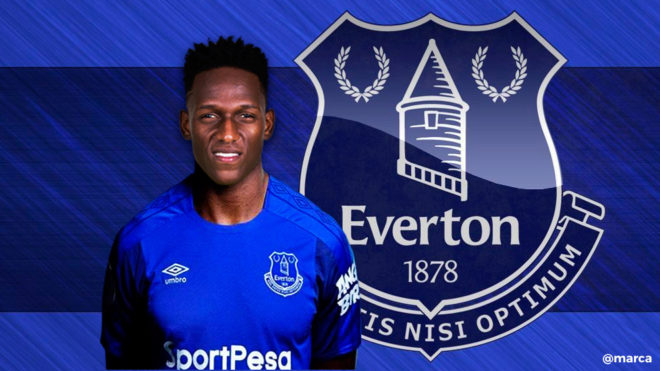 Oficial: Yerry Mina ficha por el Everton para las próximas cinco temporadas