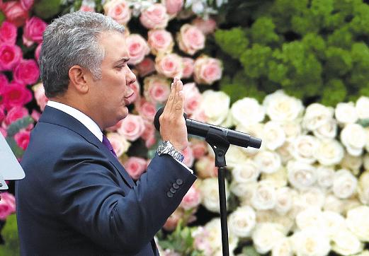 Iván Duque arranca ejerciendo soberanía