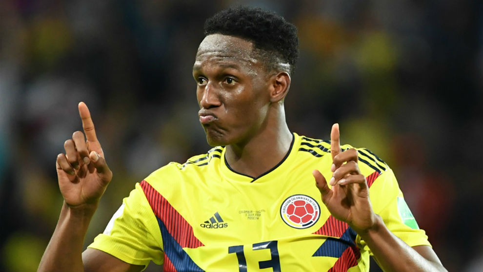 Yerry Mina, entre los nominados al once The Best