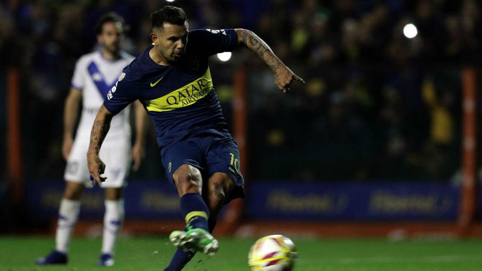 Edwin Cardona juega sus últimos partidos en Boca Juniors