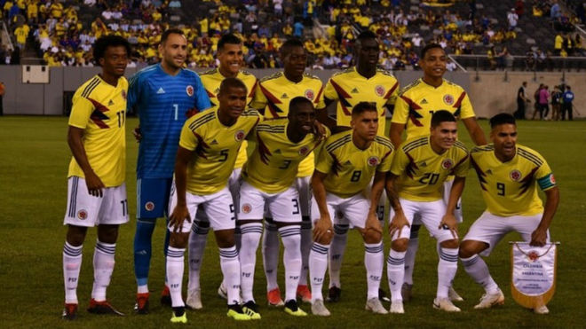 Alineación posible de Colombia vs Costa Rica