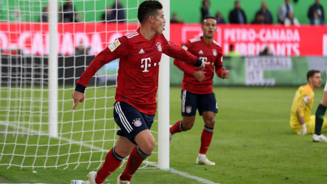 James le da la vida a Kovac