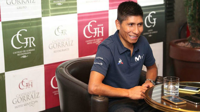"""Quintana: """"Queda Nairo para rato, y del bueno"""""""
