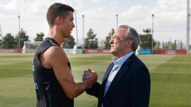 """Cristiano Ronaldo: """"Lo que me decía Florentino nunca lo hizo desde el corazón"""""""