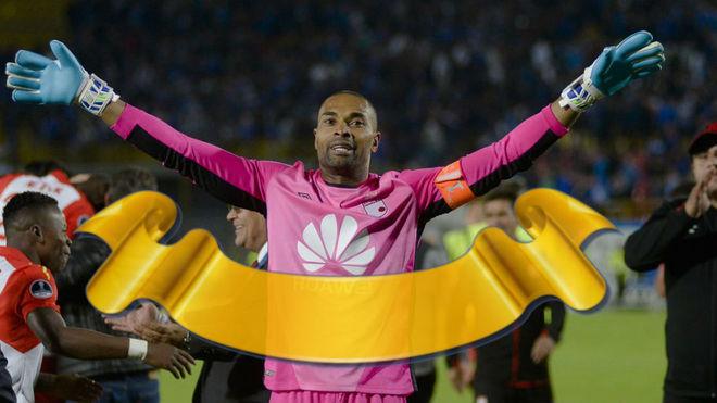 Rufay Zapata, el portero colombiano más longevo en la historia de la Copa Sudamericana