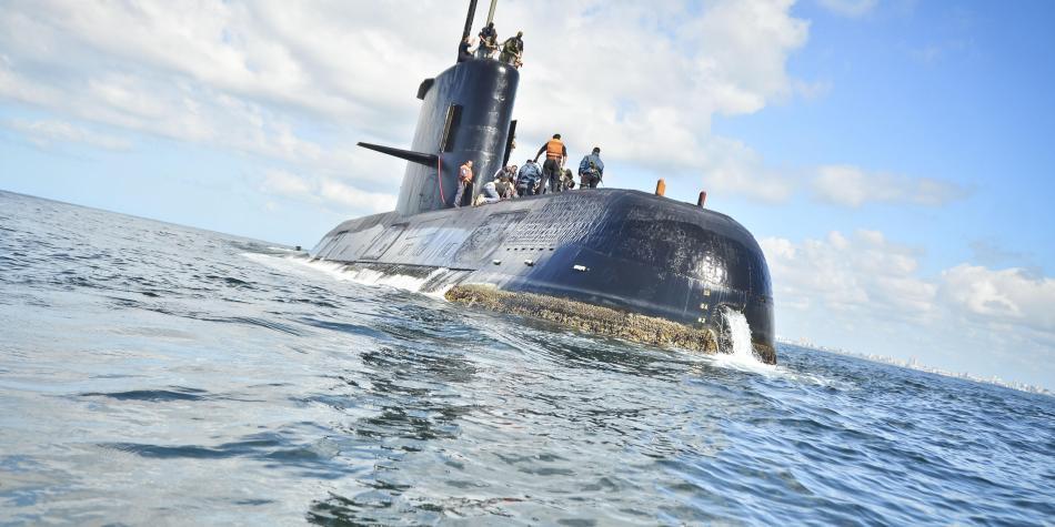 Argentina reconoce que no tiene medios para rescatar el ARA San Juan