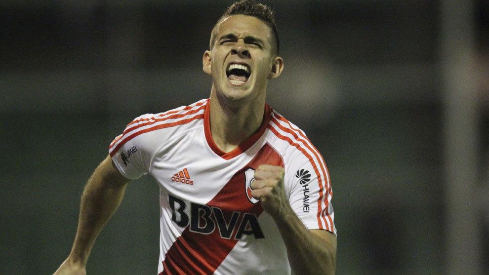 Santos Borré, entre River y Atlético de Madrid