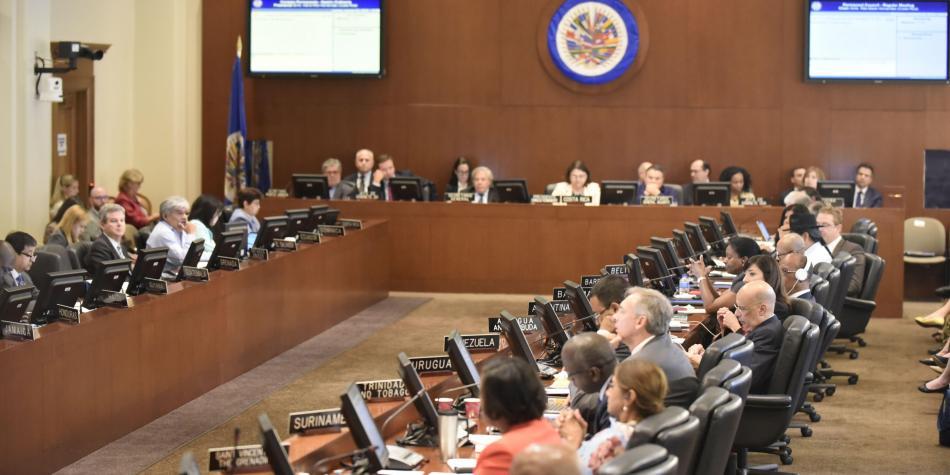 Rifirrafe entre Colombia y Venezuela durante sesión en la OEA