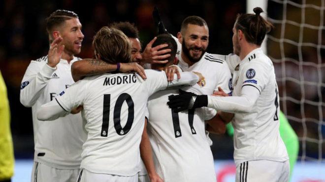 El Real Madrid sigue de récord en Champions