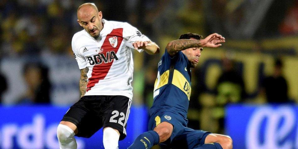 Superclásico a la altura de la final de Libertadores: Boca 2- River 2