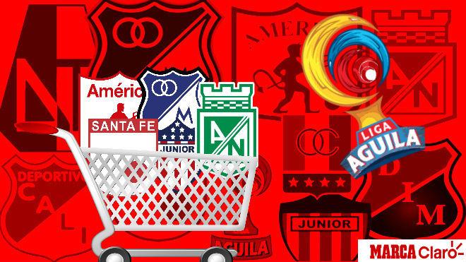 Así se empieza a mover el mercado de fichajes en el Fútbol Profesional Colombiano