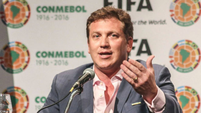 Alejandro Domínguez: «En 2020 queremos tener 16 equipos y que sea en Sudamérica»