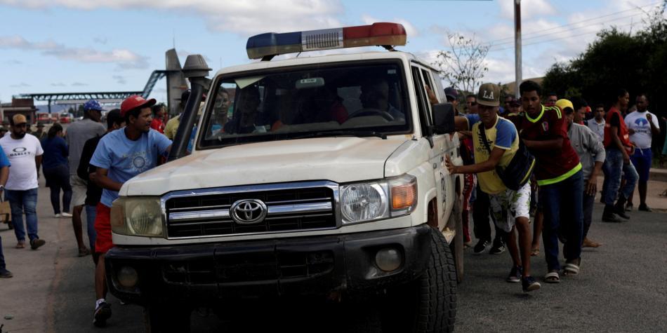 Dos muertos tras incidente en la frontera de Venezuela con Brasil