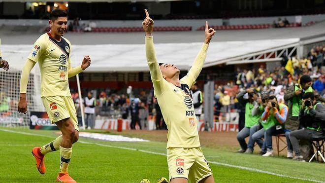 Nicolás Benedetti cumple su augurio al marcar un golazo ante Pachuca