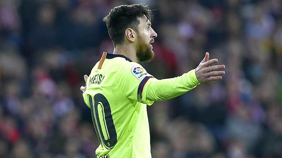 Tocado Messi