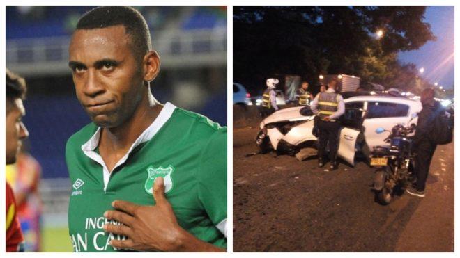 Jhon Viáfara sufre accidente por conducir en estado de embriaguez