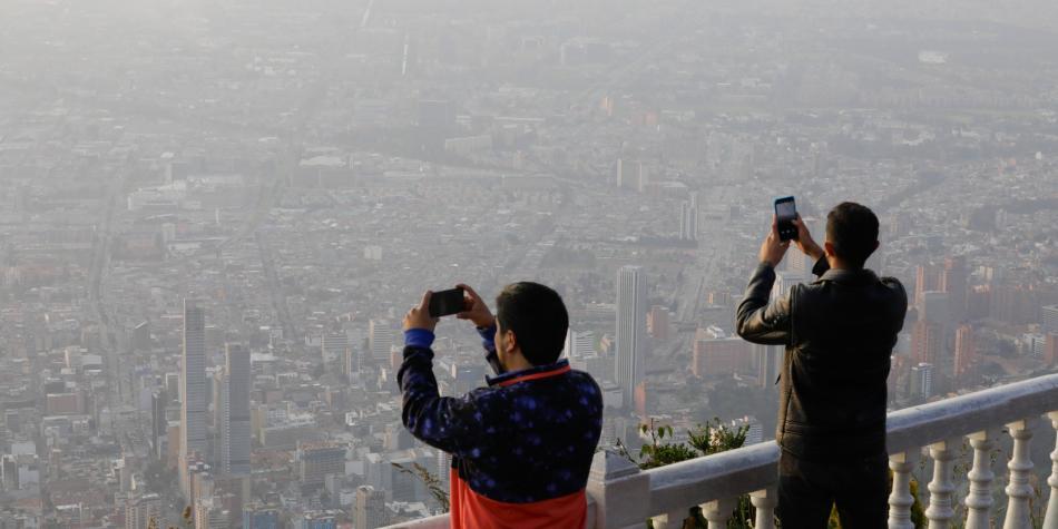 Hay nueva alerta por la mala calidad del aire en Bogotá