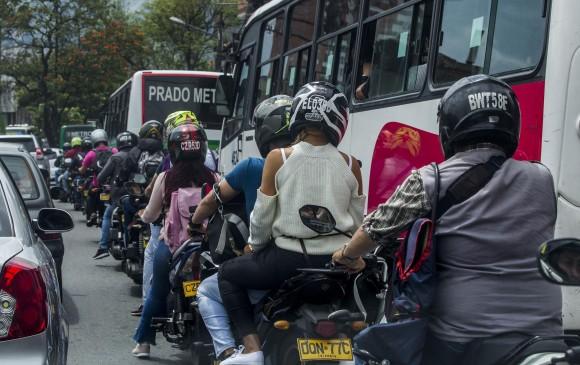 ¿Nos llenamos de mototaxis en Medellín?