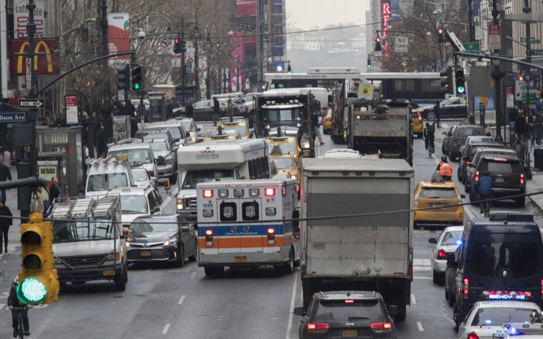 Nueva York cobrará por circular en coche en Manhattan
