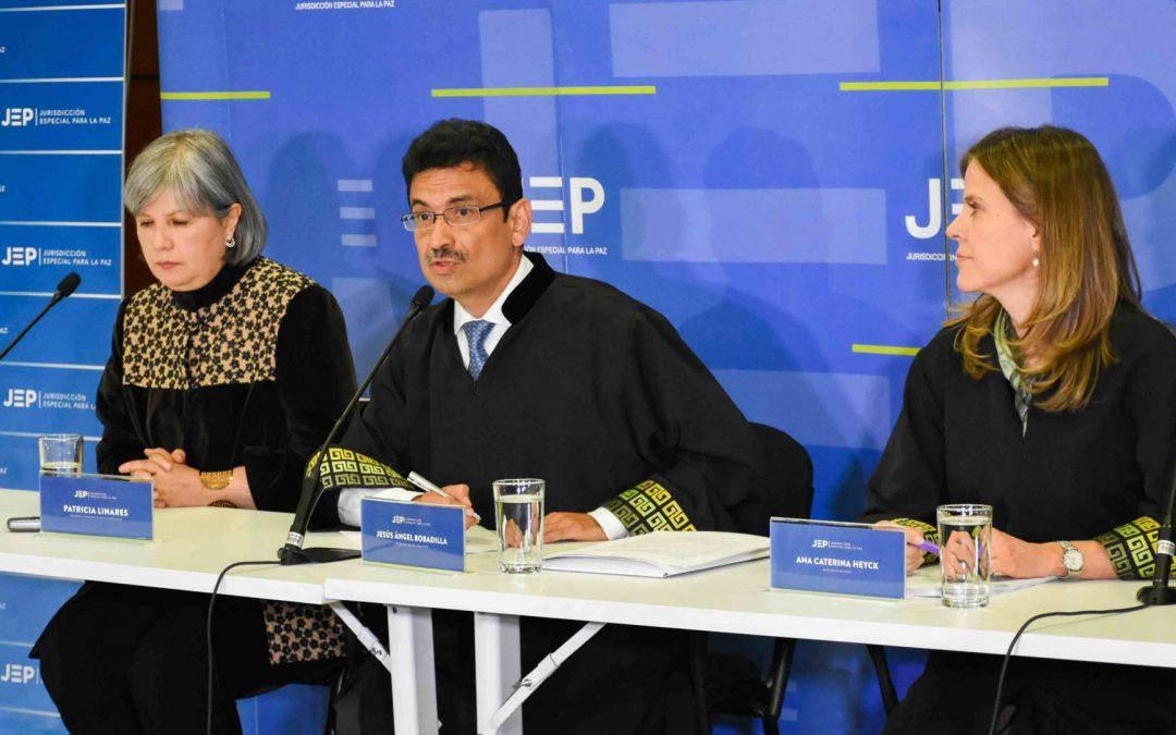El tribunal de paz de Colombia estudiará un informe sobre más de 150 ejecuciones extrajudiciales