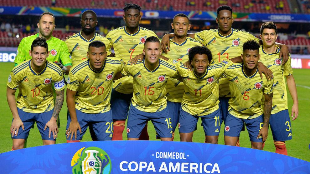 Colombia, favorita por detrás de Brasil para ganar la Copa América