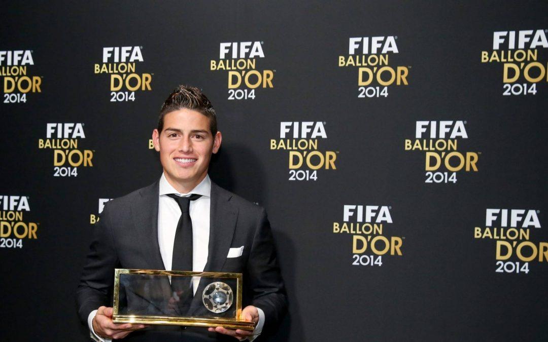 Se cumplen cinco años del gol de James que le valió el Premio Puskas
