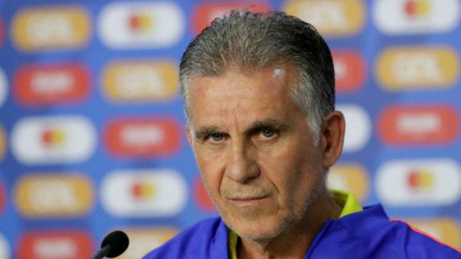Las dudas de Queiroz para el partido ante Chile