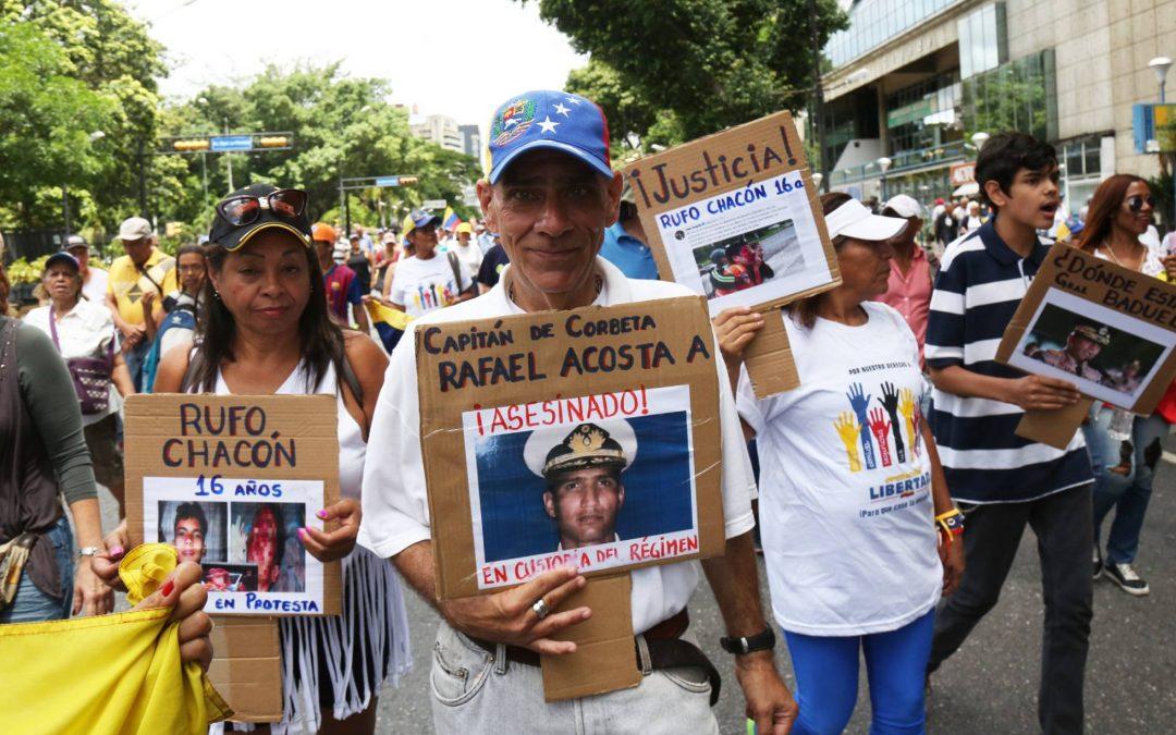 El crimen que disparó la indignación contra Maduro