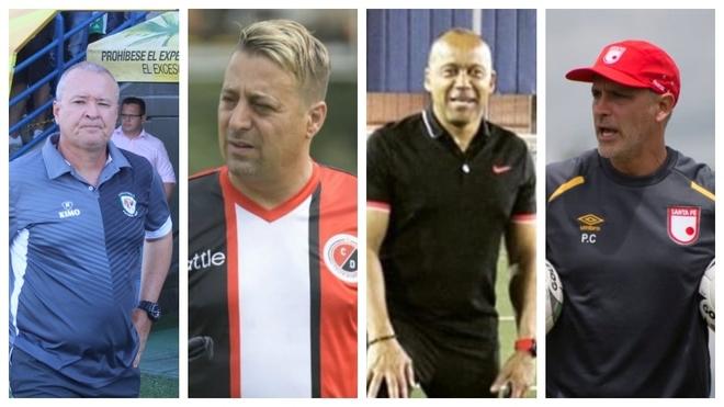 Cuatro técnicos han sido destituidos en ocho fechas de la Liga Águila