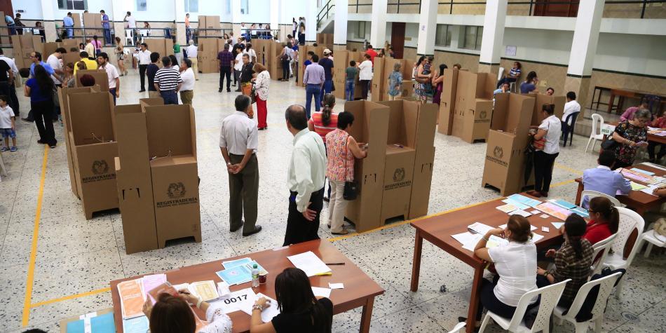 Once departamentos en alerta por posible trasteo de votos